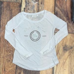 White long sleeve Aeropostale shirt